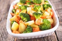 Vegetable gratin стоковая фотография