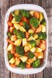 Vegetable gratin стоковое изображение