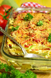 Vegetable gratin. Royalty Free Stock Image