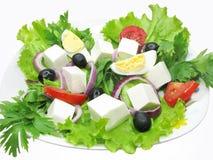 Vegetable Greek Salad Stock Photo