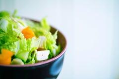 Vegetable green salad Royalty Free Stock Photo