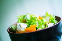 Vegetable green salad Royalty Free Stock Image