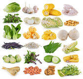 Vegetable and grians Royalty Free Stock Photos