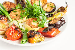 Vegetable grilled - Stock Image Royalty Free Stock Image