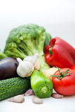 Vegetable group Stock Image