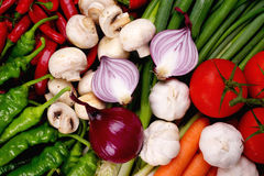Vegetable group. Fresh Vegetables picture for healthy life style Royalty Free Stock Photos