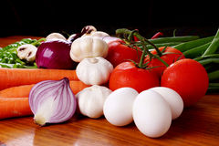 Vegetable group. Fresh Vegetables picture for healthy life style Royalty Free Stock Photo