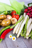 Vegetable for the healthy diet Royalty Free Stock Photos