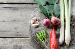 Vegetable hot and spicy ingredient Stock Photos