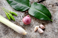 Vegetable hot and spicy ingredient Royalty Free Stock Photo