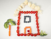 Vegetable House Stock Image
