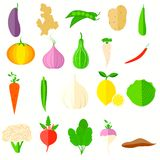 Vegetable Icon Royalty Free Stock Photography