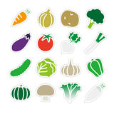 Vegetable icon Stock Image