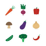 Vegetable icon Stock Photo