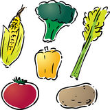 Vegetable illustration Stock Photo