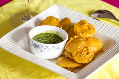 Vegetable Indian fritters Royalty Free Stock Photo