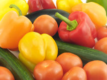 Vegetable ingredients Royalty Free Stock Photos