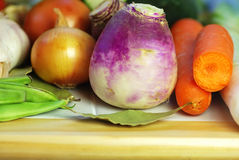 Vegetable ingredients of  cuisine Stock Image