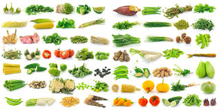 Vegetable isolated on a white background Stock Photo