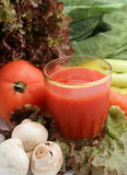 Vegetable juice Stock Photo