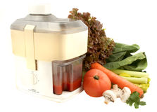 Vegetable juice stock photography