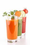 Vegetable juice Royalty Free Stock Image