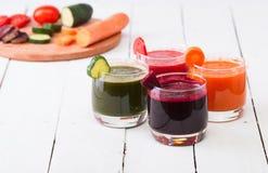Vegetable juice Stock Image
