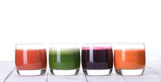 Vegetable juice Royalty Free Stock Images