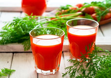 Vegetable juice Royalty Free Stock Photography