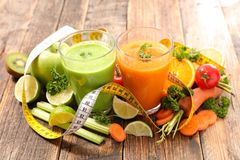 Vegetable juice Stock Image