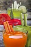 Vegetable juices Stock Photo