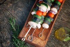 Vegetable kebab стоковые фотографии rf