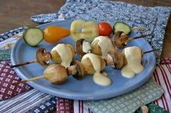 Vegetable kebab Стоковое Фото