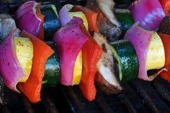 Vegetable Kebab Royalty Free Stock Photos