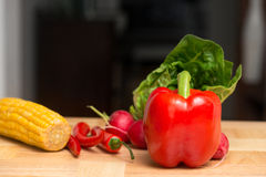 Vegetable Kitchen Background Royalty Free Stock Images