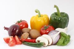 Vegetable komposition stock image