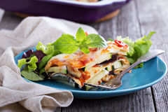 Vegetable lasagna Royalty Free Stock Image