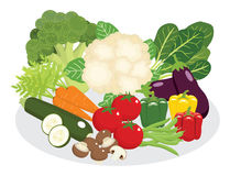 Vegetable and legumes diet Stock Photography