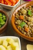 Vegetable lentil soup Royalty Free Stock Images
