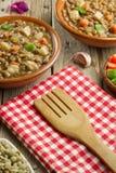 Vegetable lentil soup Stock Images