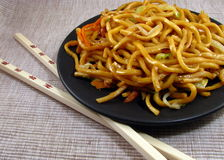 Vegetable Lo Mein Royalty Free Stock Photography