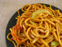 Vegetable Lo Mein Royalty Free Stock Images