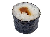 Vegetable maki roll Royalty Free Stock Images