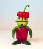Vegetable man Stock Photography