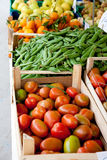 Vegetable market Royalty Free Stock Images
