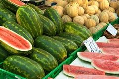Vegetable market Royalty Free Stock Photos