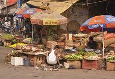Vegetable Market Royalty Free Stock Photo