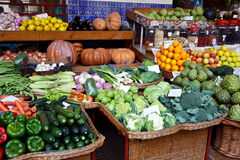 Vegetable Market. Background fruits vegetables stock image