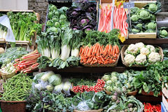 Vegetable market Royalty Free Stock Photo
