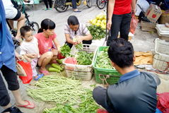 Vegetable market Stock Image